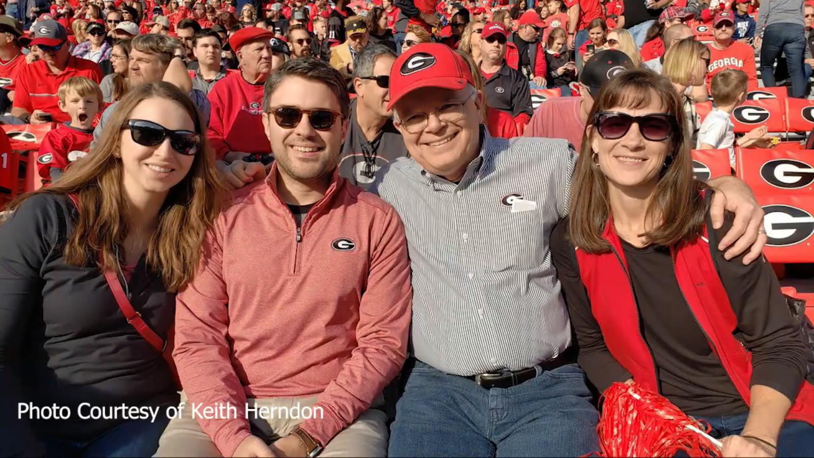 UGA Professor Celebrates 40 Years of Perfect Home Game Attendance